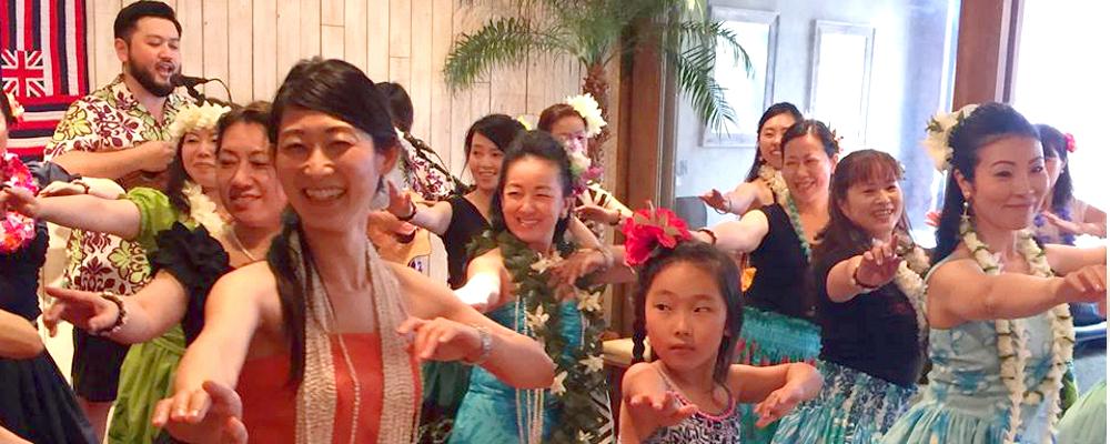 Kūhai Hālau Ō Lei'ilimalani Pā 'Ōlapa Kahiko   京都・大阪のフラ教室   神社でフラ